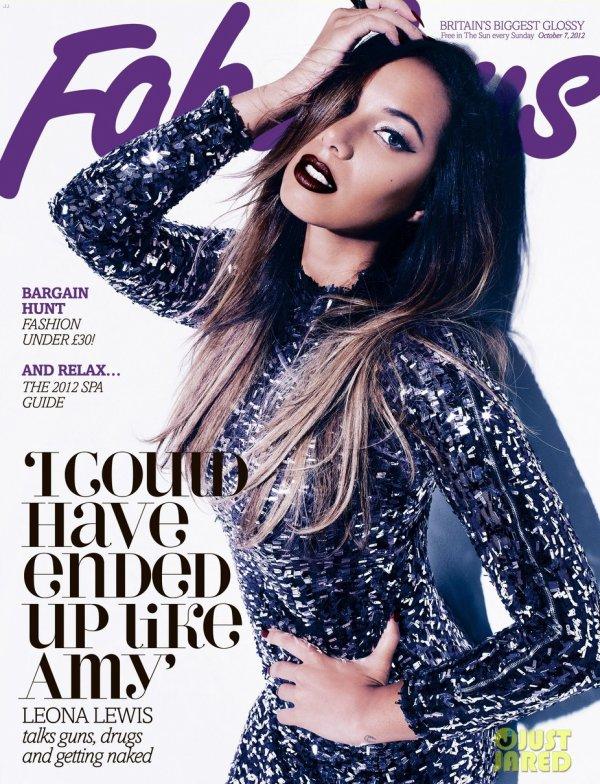 Leona Lewis pose pour Fabulous.