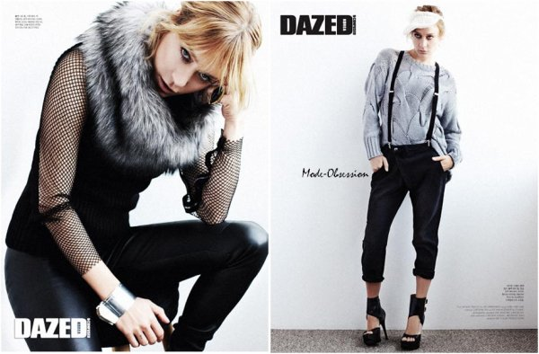 Chloé Sevigny pose pour Dazed & Confused.
