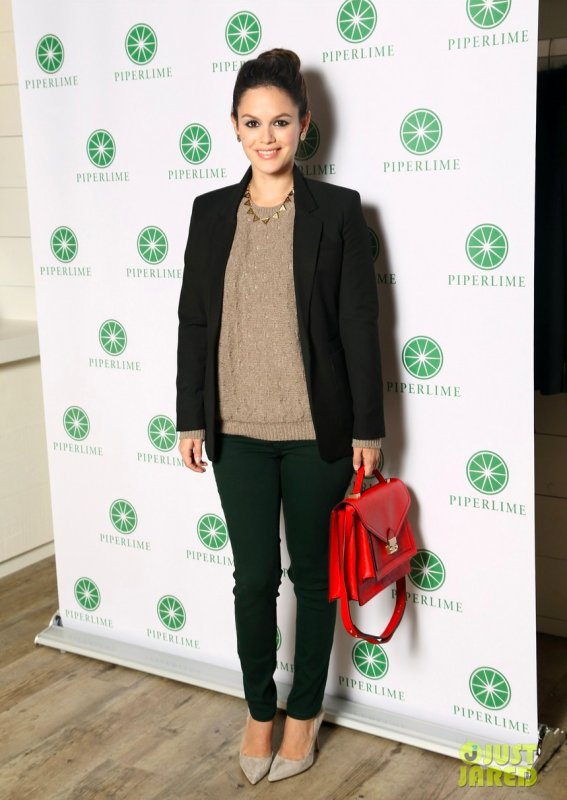 Rachel Bilson à un évènement à New York. Piperlime Best Fashion Friends Night