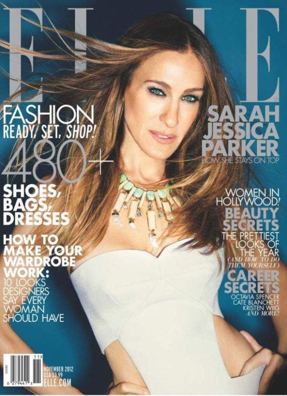 Sarah Jessica Parker pose pour ELLE.