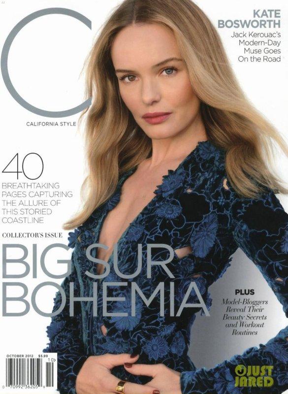 Kate Bosworth pose pour California Style.