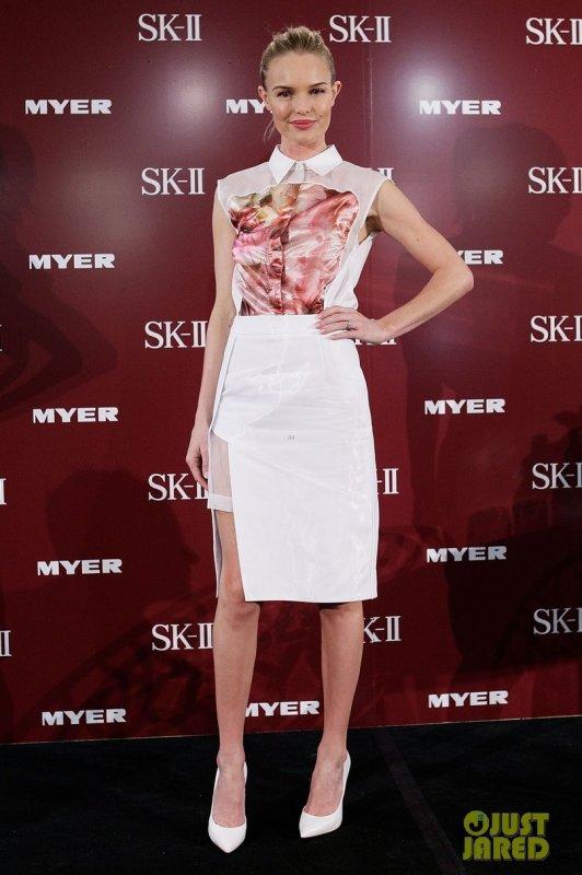 Kate Bosworth à un évènement SK-II. Australie