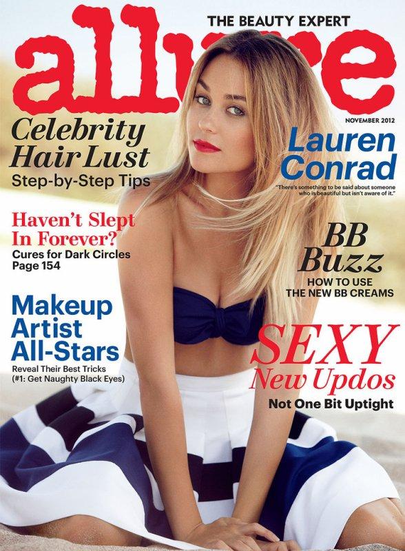 Lauren Conrad pose pour Allure.