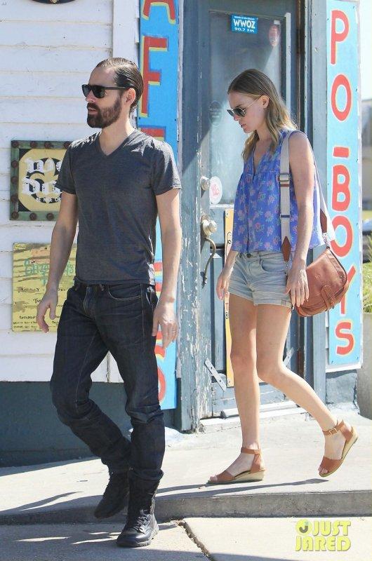 Kate Bosworth de sortie avec son boyfriend.