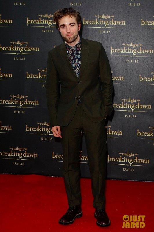 Robert Pattinson fait la promo du dernier Twilight. Sydney, Australie
