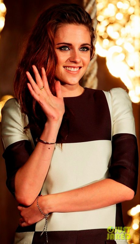 Kristen Stewart à un photocall pour le dernier Twilight. Tokyo, Japon