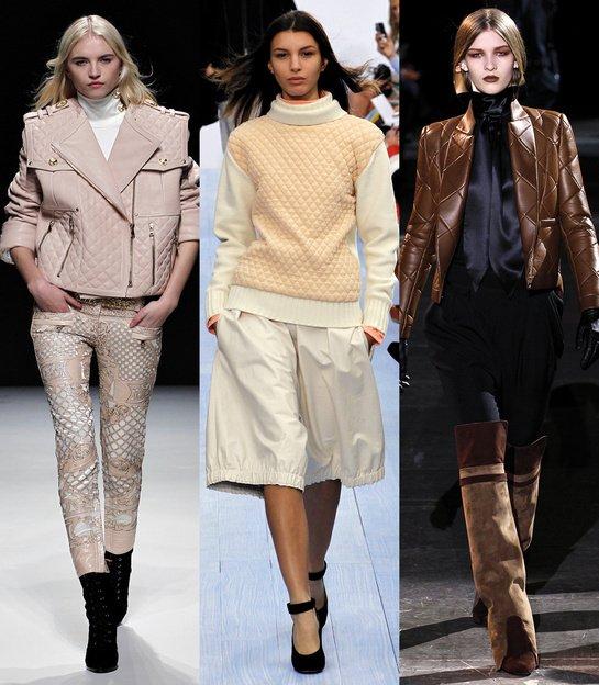 Les 20 tendances mode de l'automne-hiver 2012-2013 source : Vogue.fr