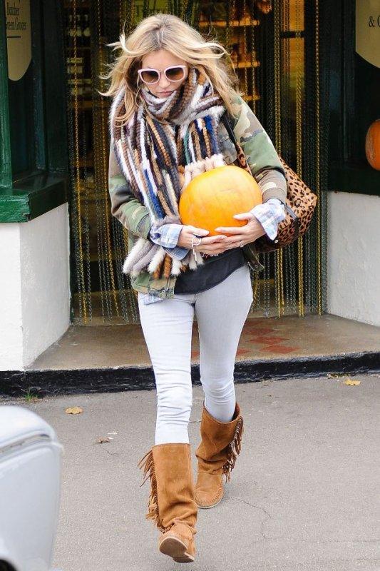 Kate Moss de sortie. Londres