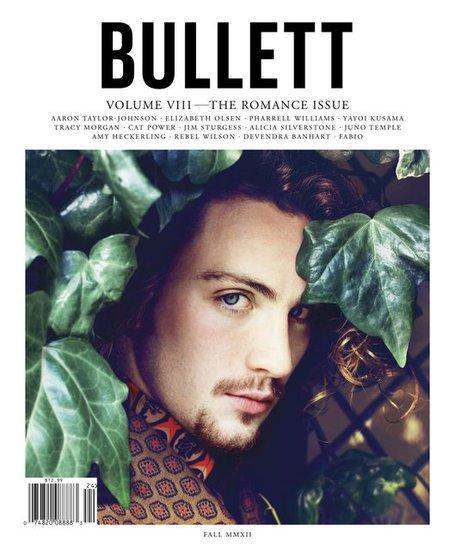 Aaron Taylor-Johnson pose pour Bullet.