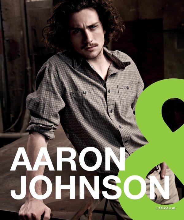 Aaron Taylor-Johnson pose pour Filmax.
