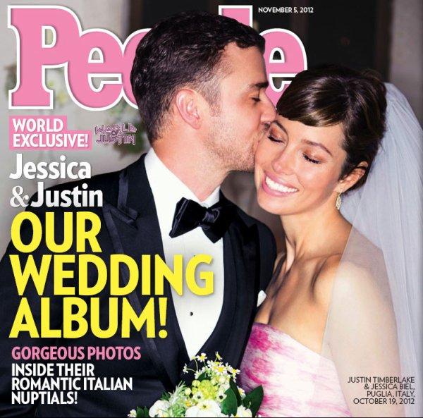 Mariage  Justin Timberlake & Jessica Biel