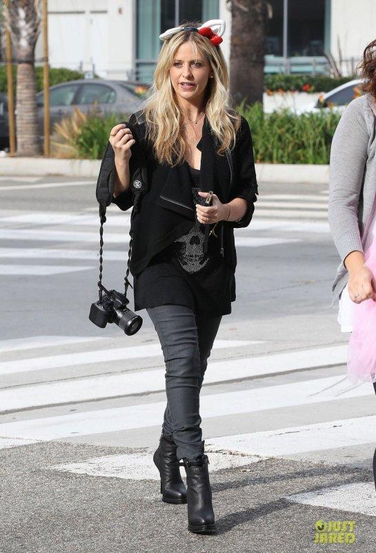 Sarah Michelle Gellar de sortie. Santa Monica, Californie