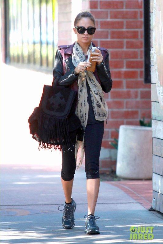 Nicole Richie va à la gym.