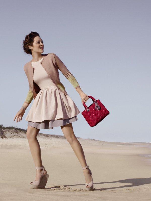 Marion Cotillard pour Dior.