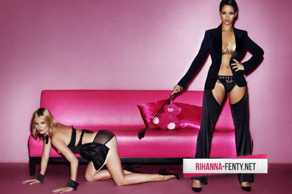 Rihanna et Kate Moss posent pour V magazine.