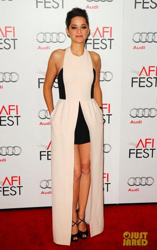 Marion Cotillard à un évènement Hollywood. 2012 AFI Fest