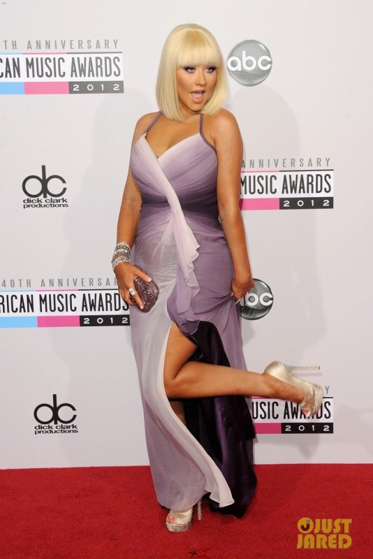 American Music Awards 2012  Christina Aguilera