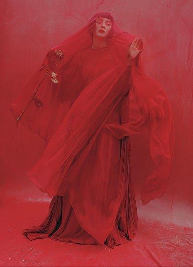 Marion Cotillard pose pour le magasine W.