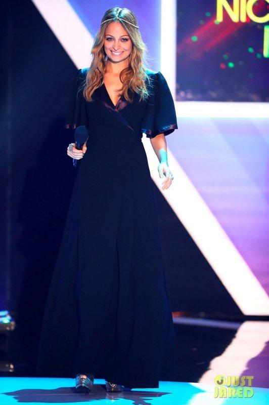 Nicole Richie à un évènement. 2012 TeenNick Halo Awards