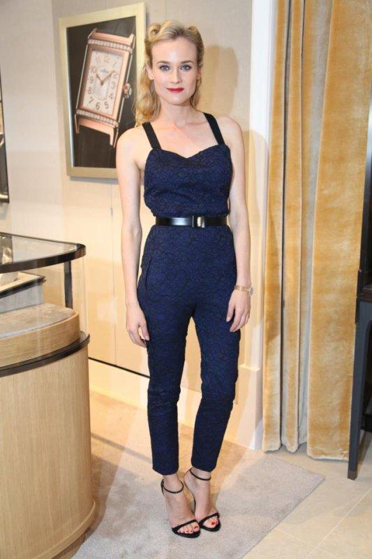 Diane Kruger à un évènement.