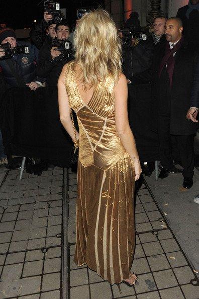 Kate Moss à un évènement.