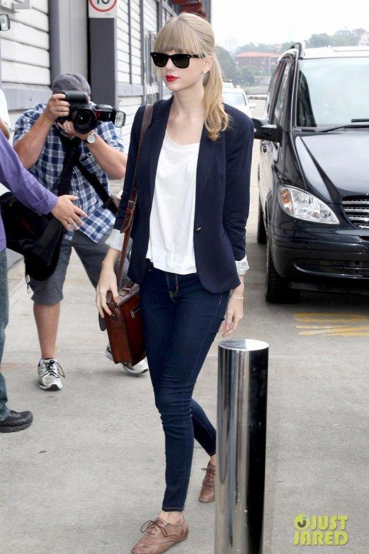 Taylor Swift de sortie.