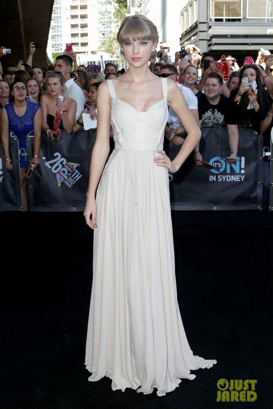 Taylor Swift à un évènement en Australie. 2012 ARIA Awards