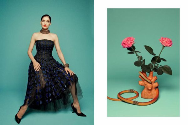 Laetitia Casta pose pour Tar Magazine.