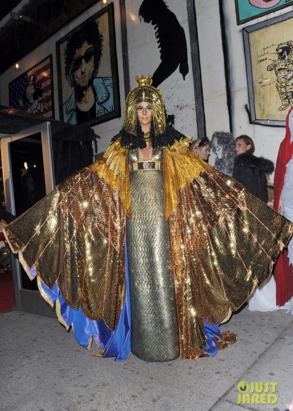 Heidi Klum à sa soirée à New York. 2012 Haunted Holiday Party