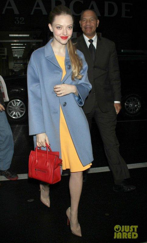 Amanda Seyfried de sortie. New York