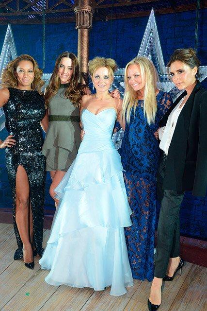 Les Spice Girls à un évènement. Londres