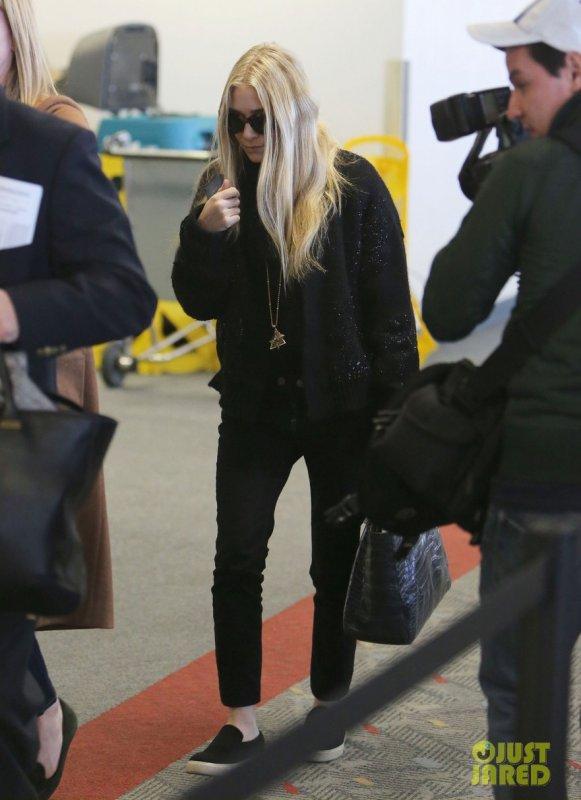 Mary Kate Olsen à l'aéroport LAX. Los Angeles