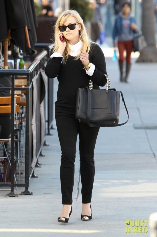 Reese Witherspoon de sortie. Beverly Hills, Californie