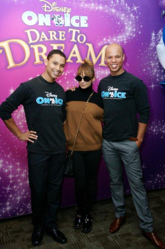 Nicole Richie à un évènement Disney.