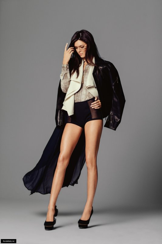 Kendall Jenner pose pour Vogue.