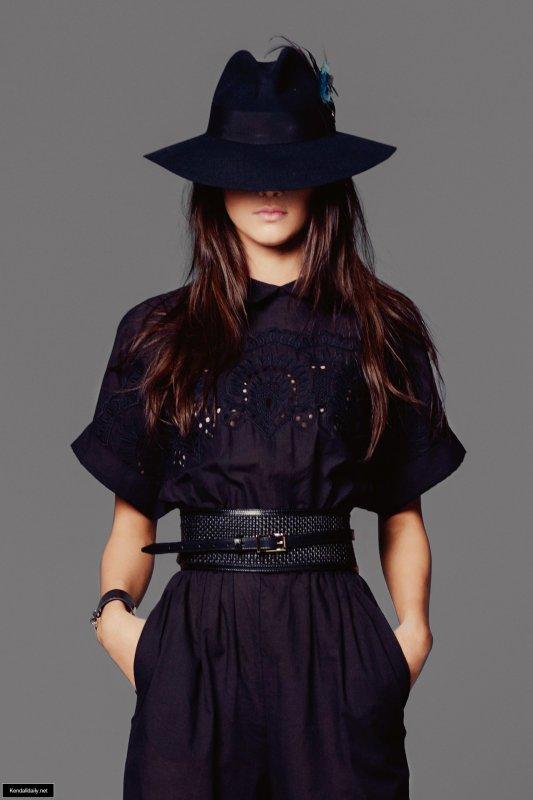 Kendall Jenner pose pour Vogue.