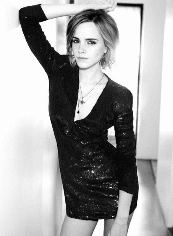 Emma Watson pose pour Marie Claire.