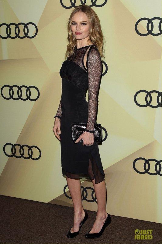 Kate Bosworth à un évènement à Los Angeles. Audi's 2013 Golden Globes Kick Off Party