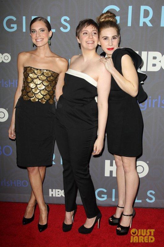 Première de la saison 2 de la série Girls. New York