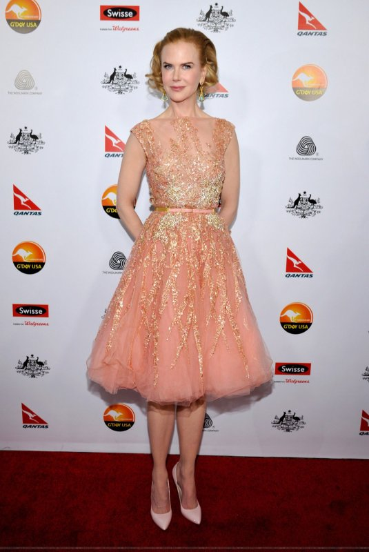 Nicole Kidman à un évènement à Los Angeles. 2013 G'Day USA Black Tie Gala