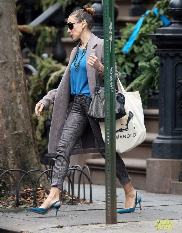 Sarah Jessica Parker de sortie. New York