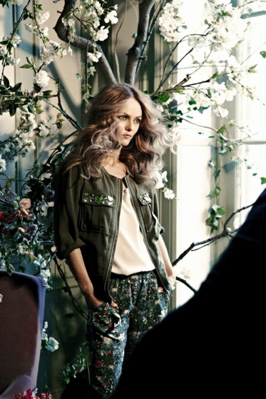 Ce printemps, Vanessa Paradis incarnera la collection H&M Conscious.
