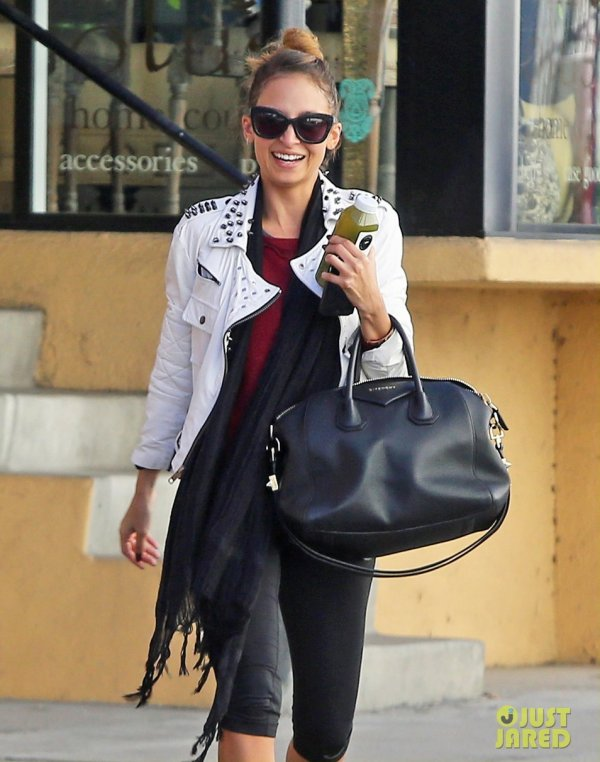 Nicole Richie de sortie. Studio City, Californie