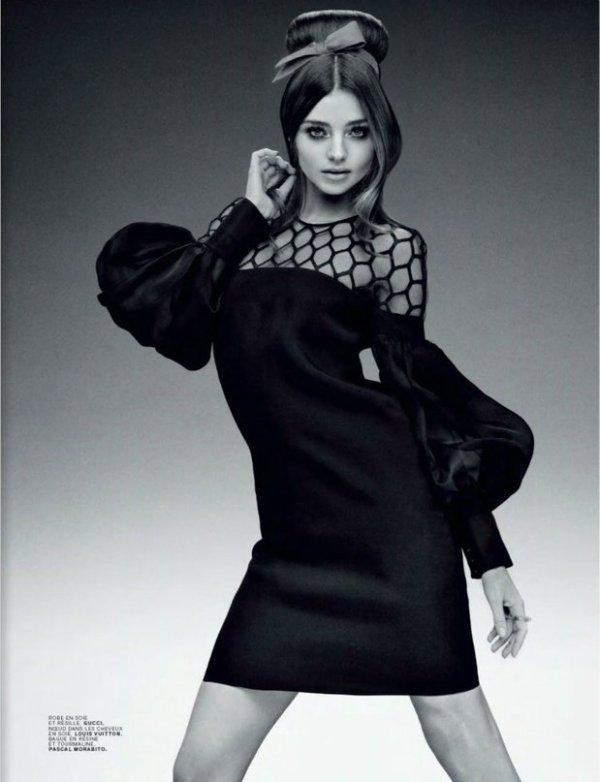 Miranda Kerr pose pour Jalouse.