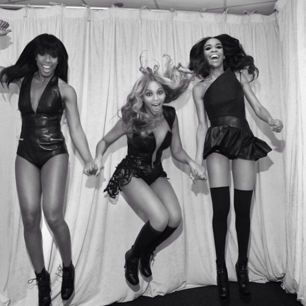 Beyonce en live au Super Bowl 2013.
