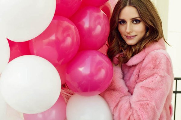 Olivia Palermo pose pour Marie Claire.