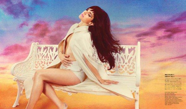 Lana Del Rey pose pour Numéro Tokyo.