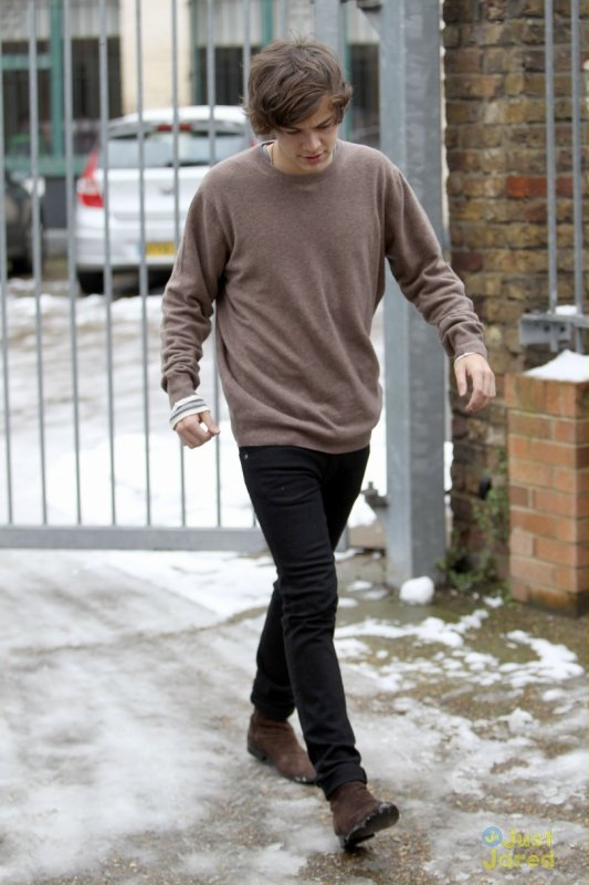 Harry Styles de sortie.