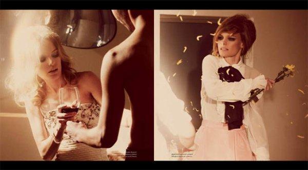 Kate Bosworth pose pour Vs. magazine.