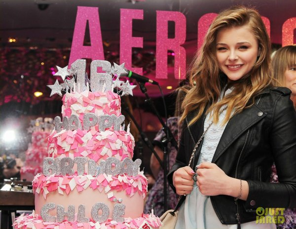 Chloé Moretz à un évènement à New York. Sweet 16 Teen Vogue Birthday Party